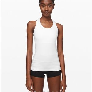 White lululemon tank top!!